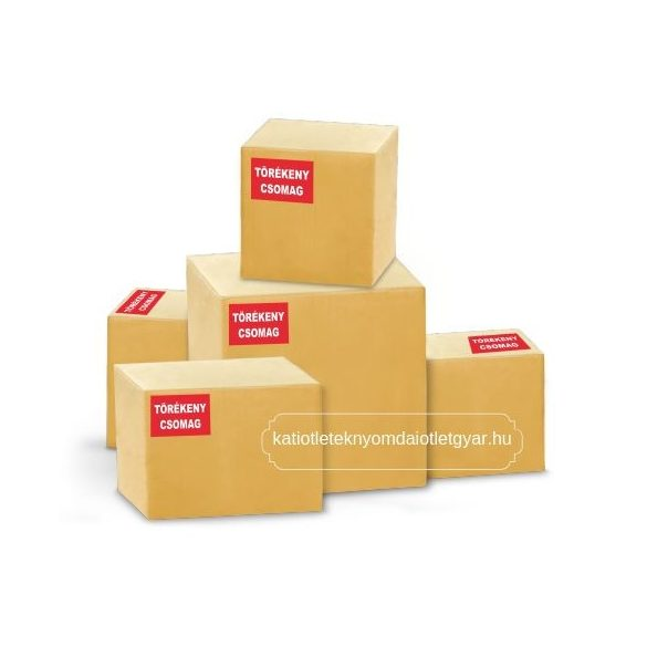 Törékeny csomag matrica 1200 db