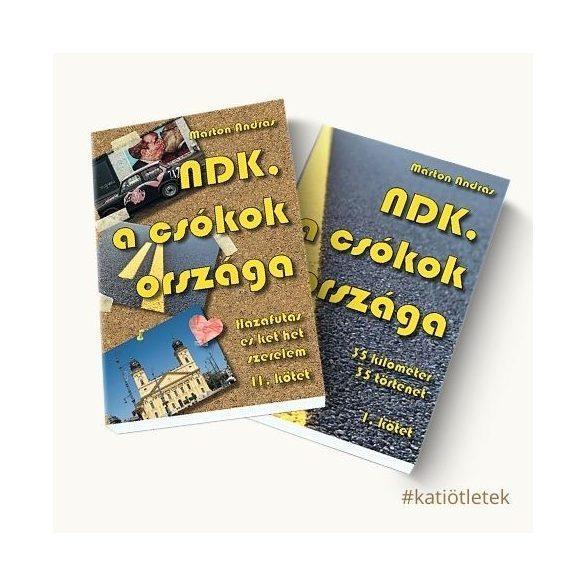 Puhatáblás könyv: Márton András: NDK, a csókok országa I-II. kötet