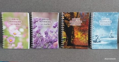 Évával spirálozott naplókat készítettünk